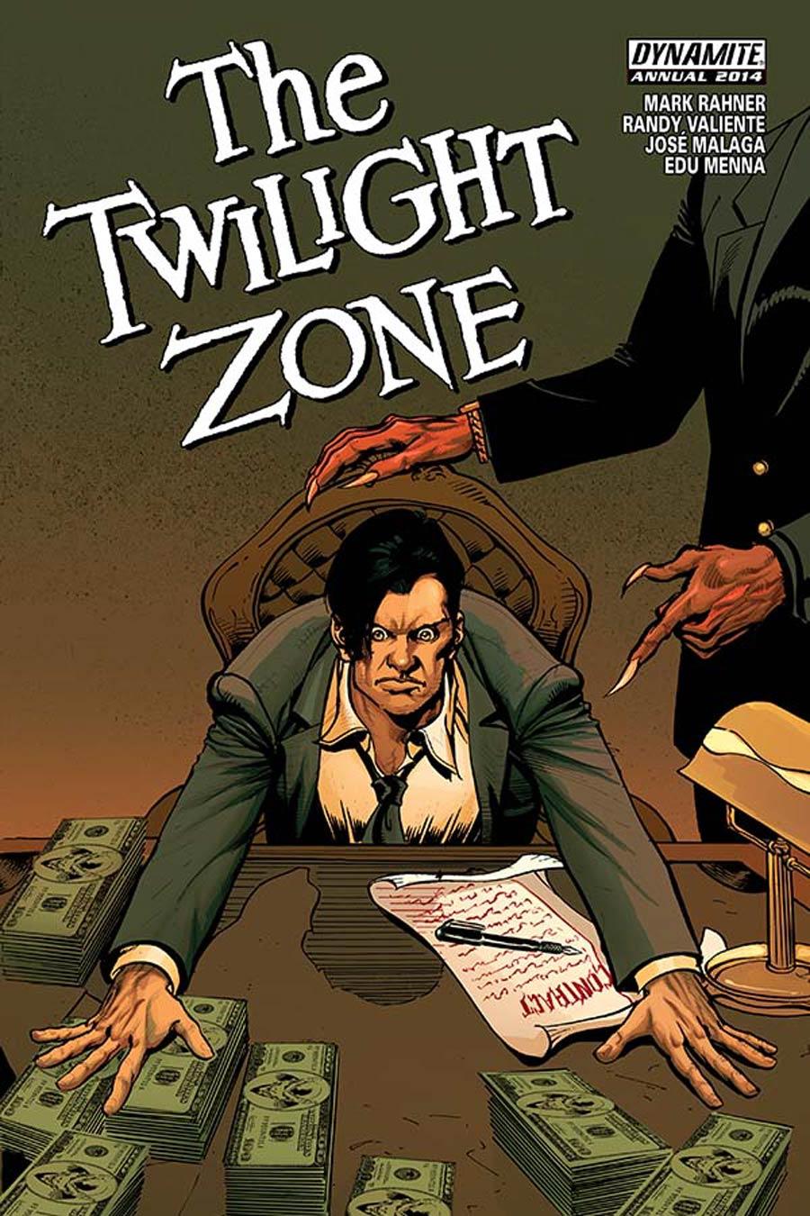Twilight Zone Vol 5 Annual 2014