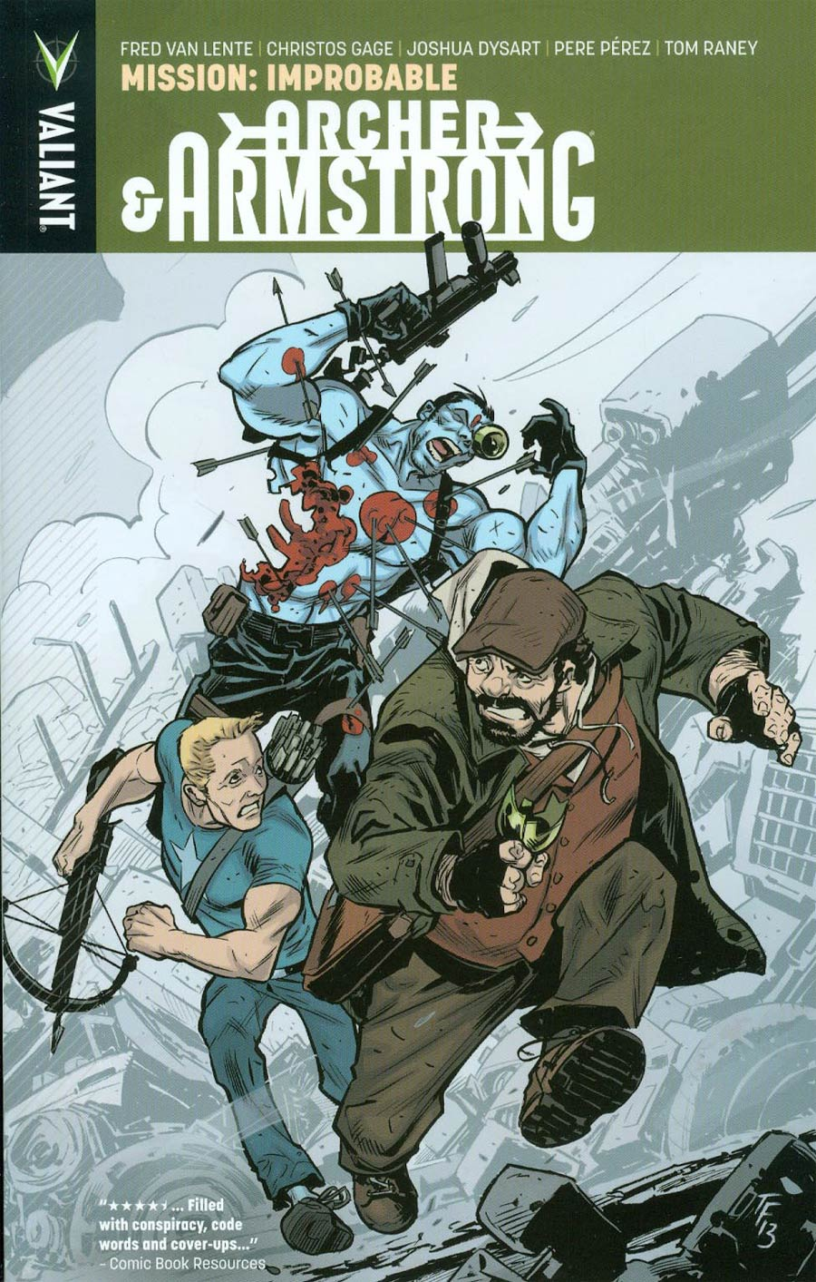 Archer & Armstrong Vol 5 Mission Improbable TP