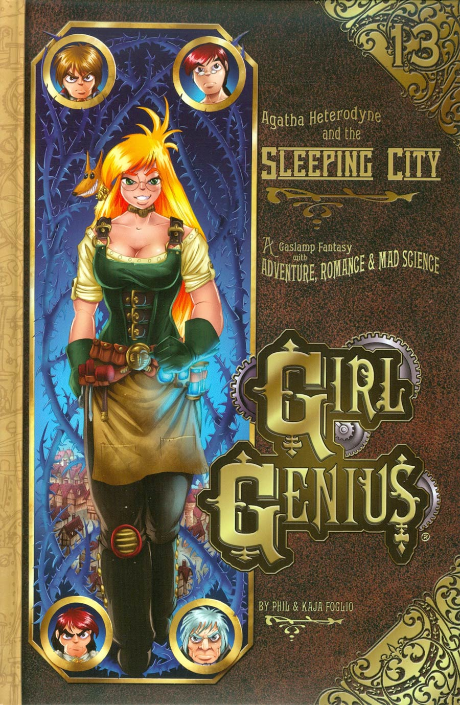 Girl Genius Vol 13 Agatha Heterodyne And The Sleeping City HC