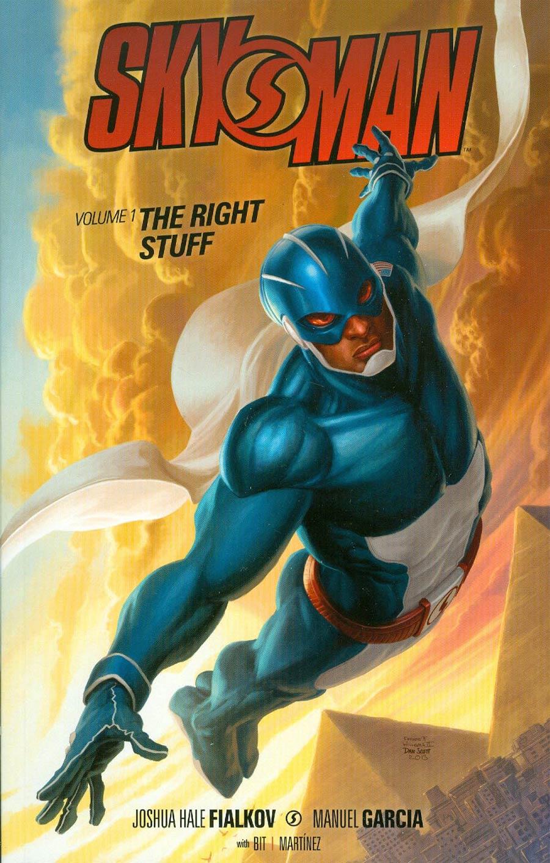 Skyman Vol 1 Right Stuff TP
