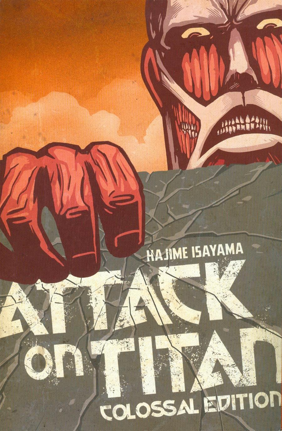 Attack On Titan Colossal Edition Vol 1 GN