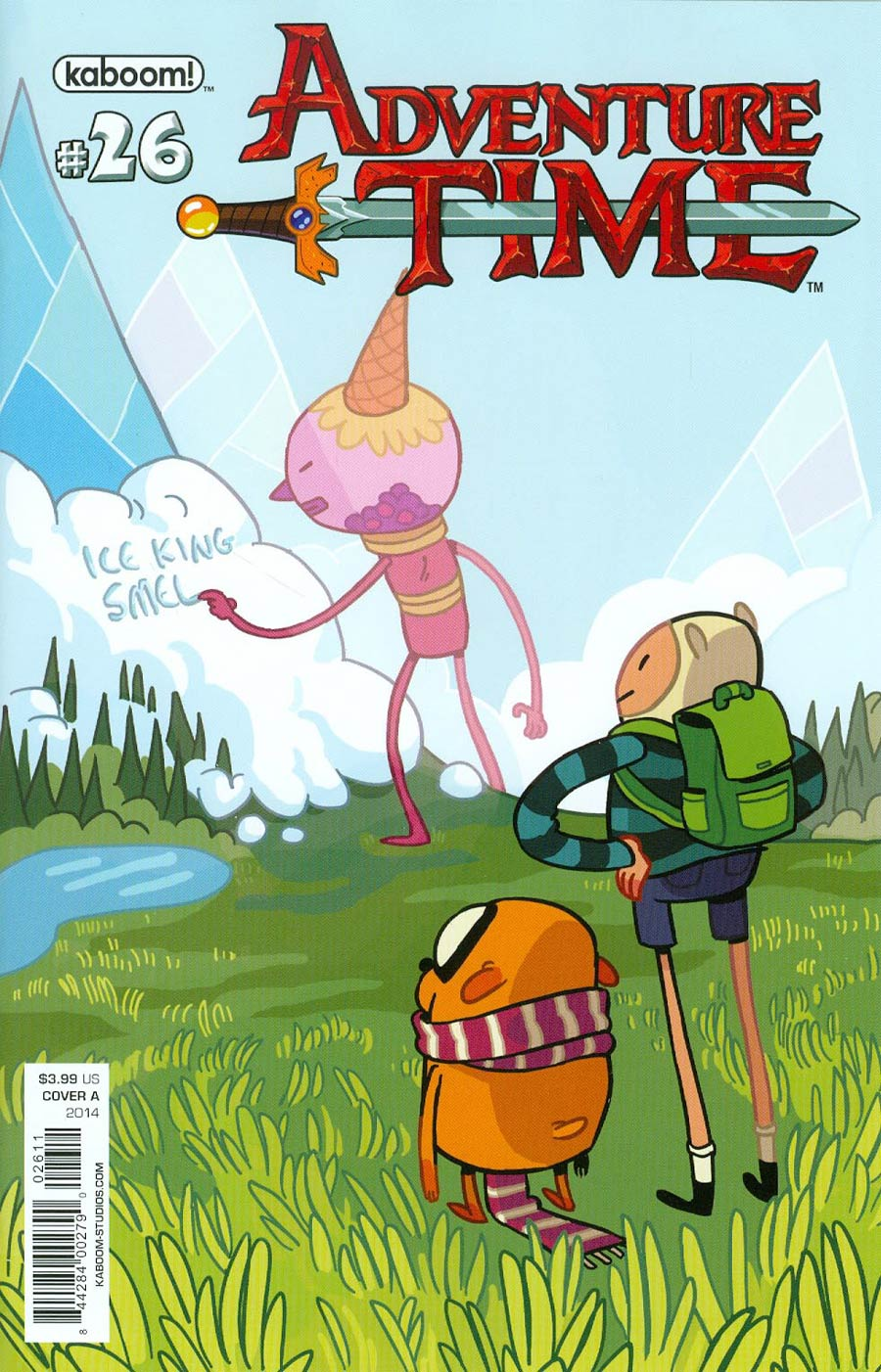 Adventure Time #26 Cover A Regular Hannah Bischak Cover