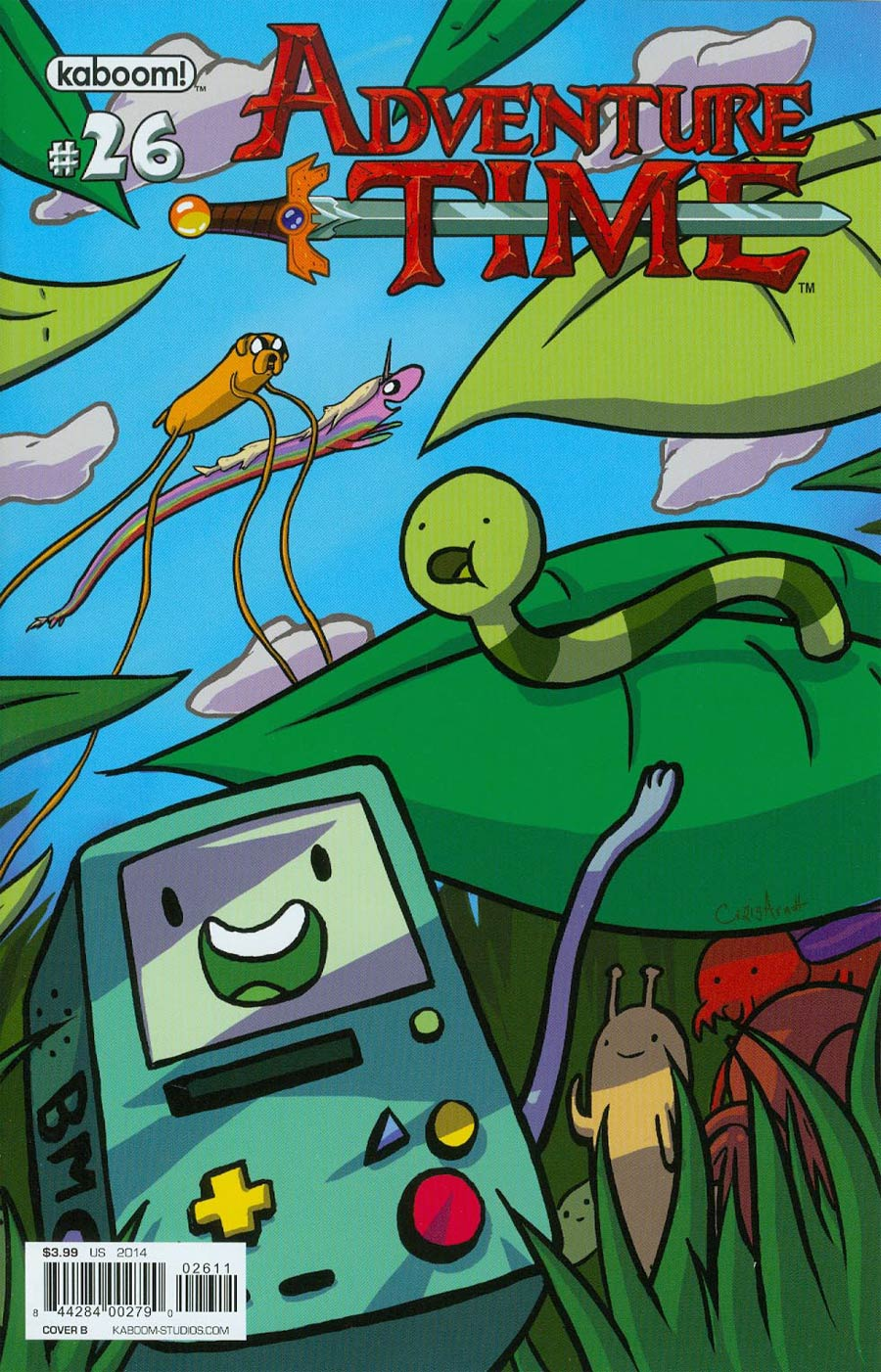 Adventure Time #26 Cover B Regular Craig Arndt Cover