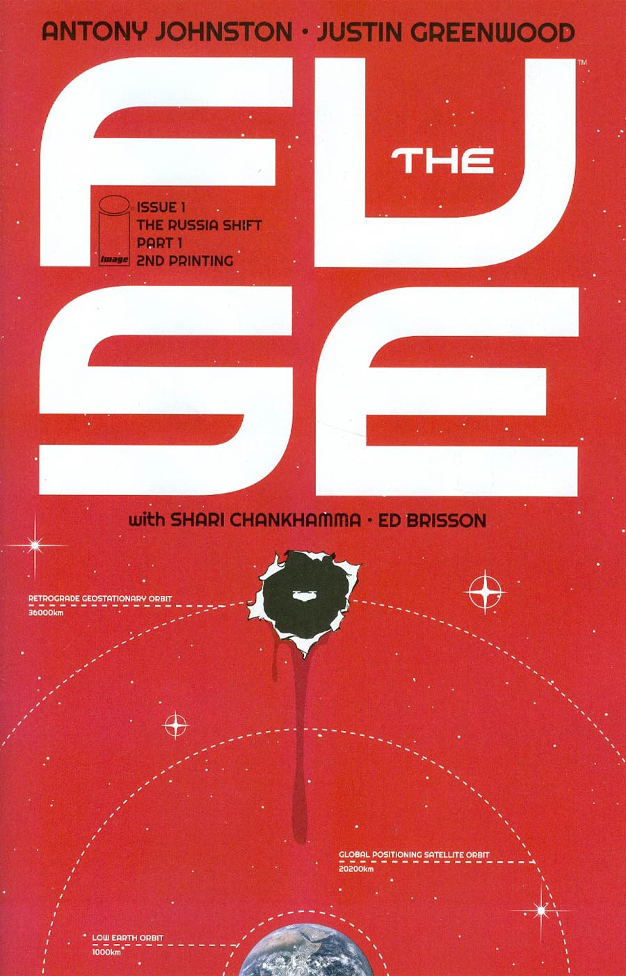 Fuse #1 Cover B 2nd Ptg
