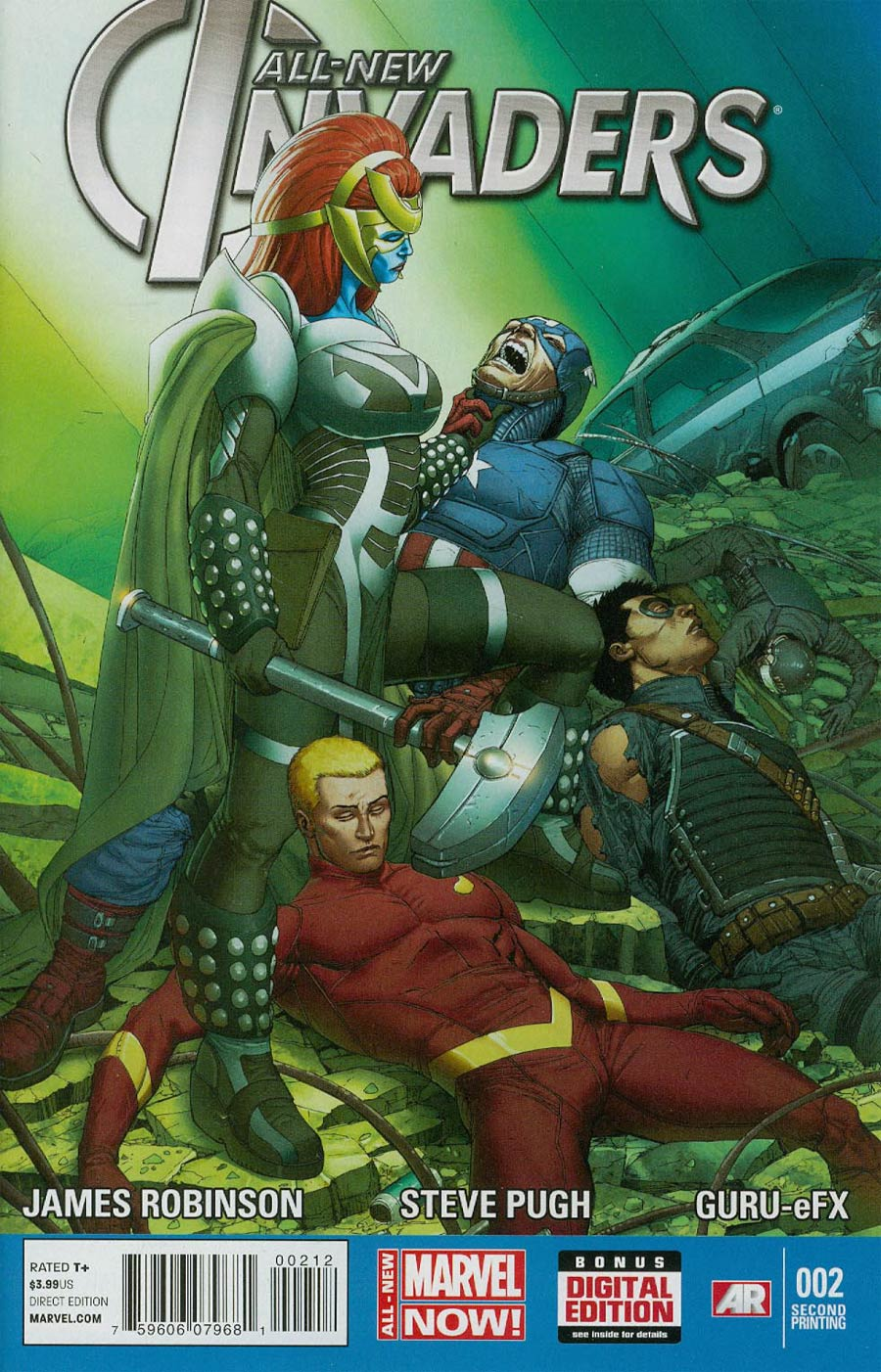 All-New Invaders #2 Cover C 2nd Ptg Mukesh Singh Variant Cover