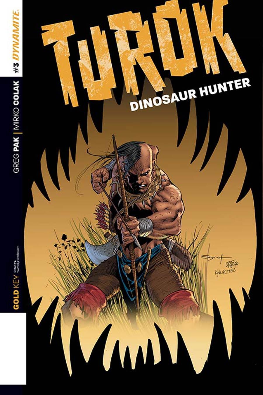 Turok Dinosaur Hunter Vol 2 #3 Cover C Incentive Ardian Syaf Variant Cover