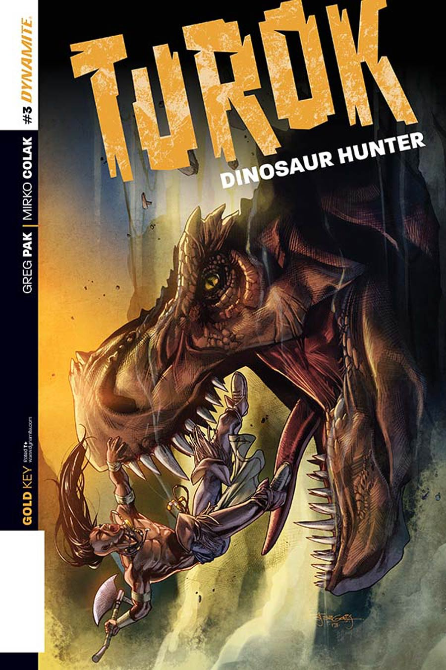 Turok Dinosaur Hunter Vol 2 #3 Cover D Incentive Stephen Segovia Variant Cover