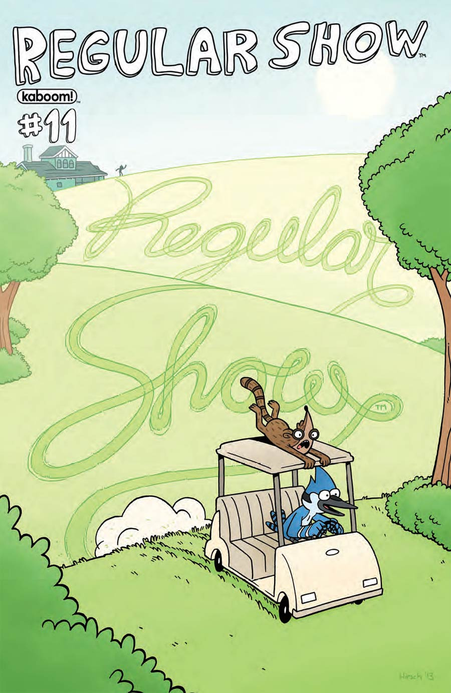 Regular Show #11 Cover A Regular Andy Hirsch Cover