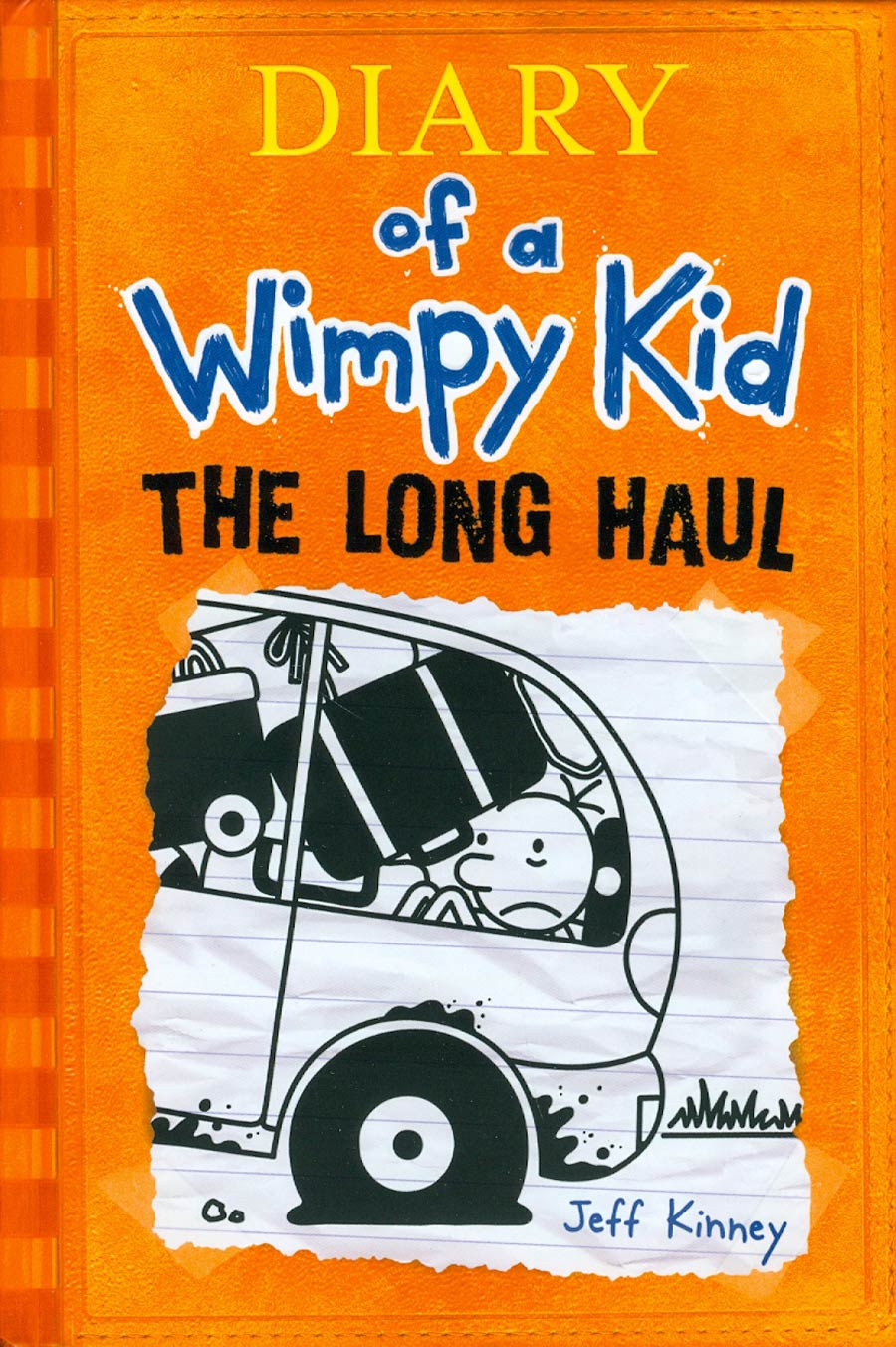 Diary Of A Wimpy Kid Vol 9 The Long Haul HC