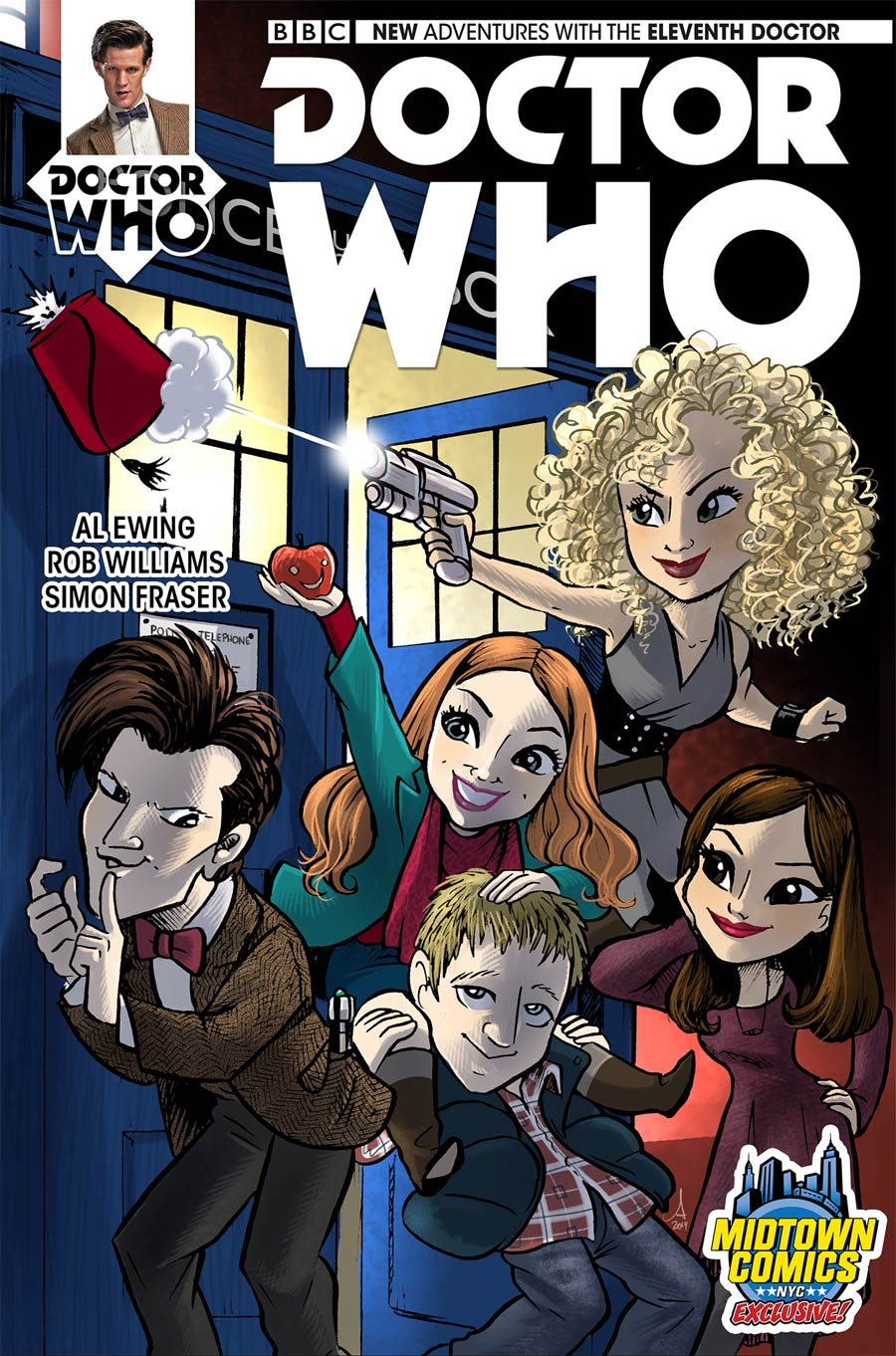 Doctor Who 11th Doctor #1 Cover C Midtown Exclusive Amy Mebberson Variant Cover (2 Of 2)