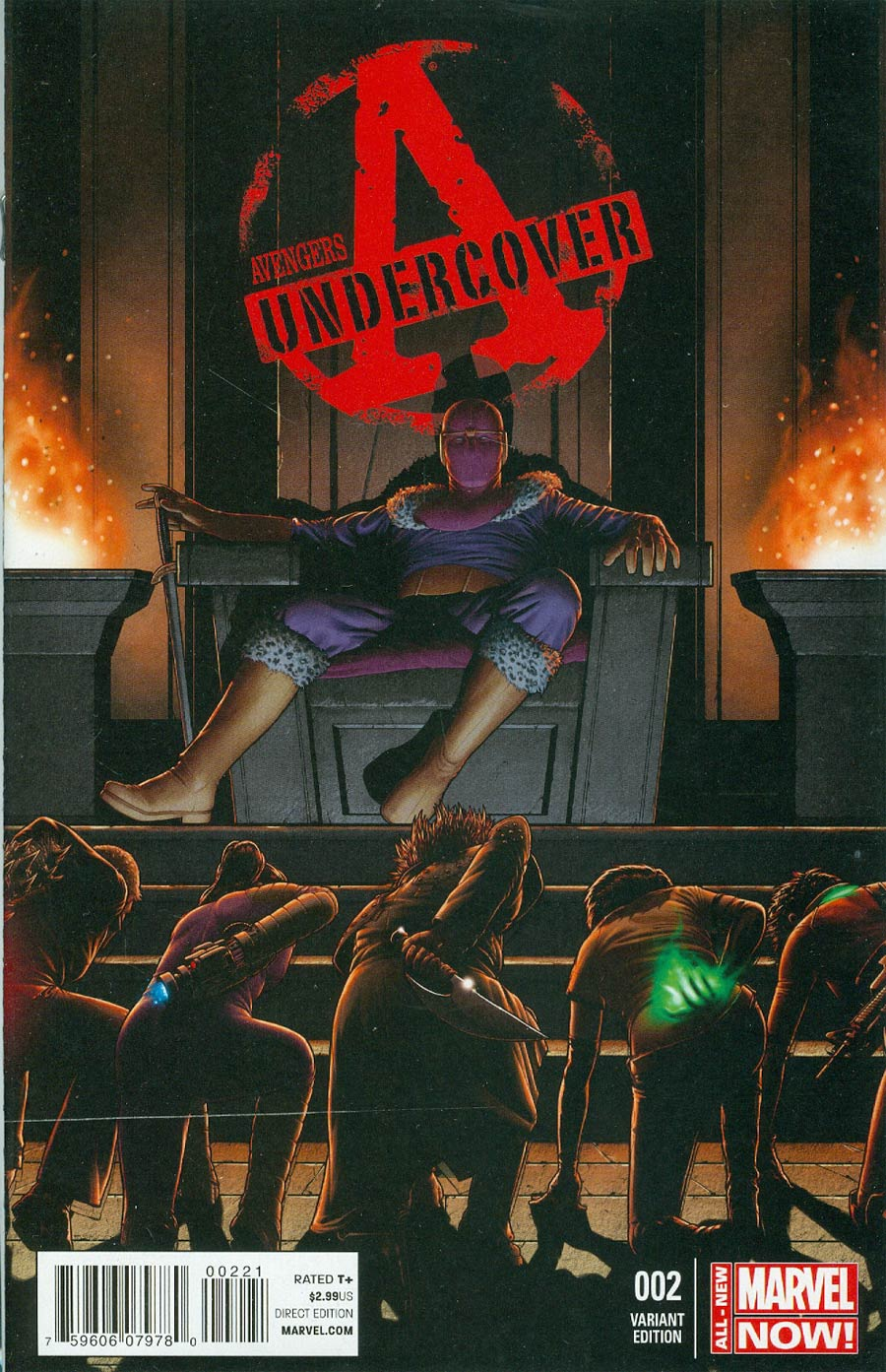 Avengers Undercover #2 Cover B Incentive John Tyler Christopher Variant Cover