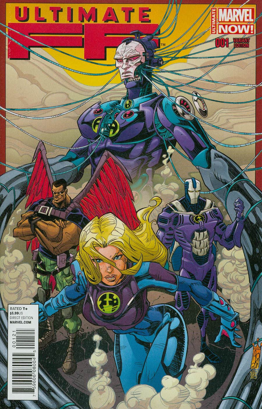 Ultimate FF #1 Cover B Incentive Giuseppe Quattrocchi Variant Cover