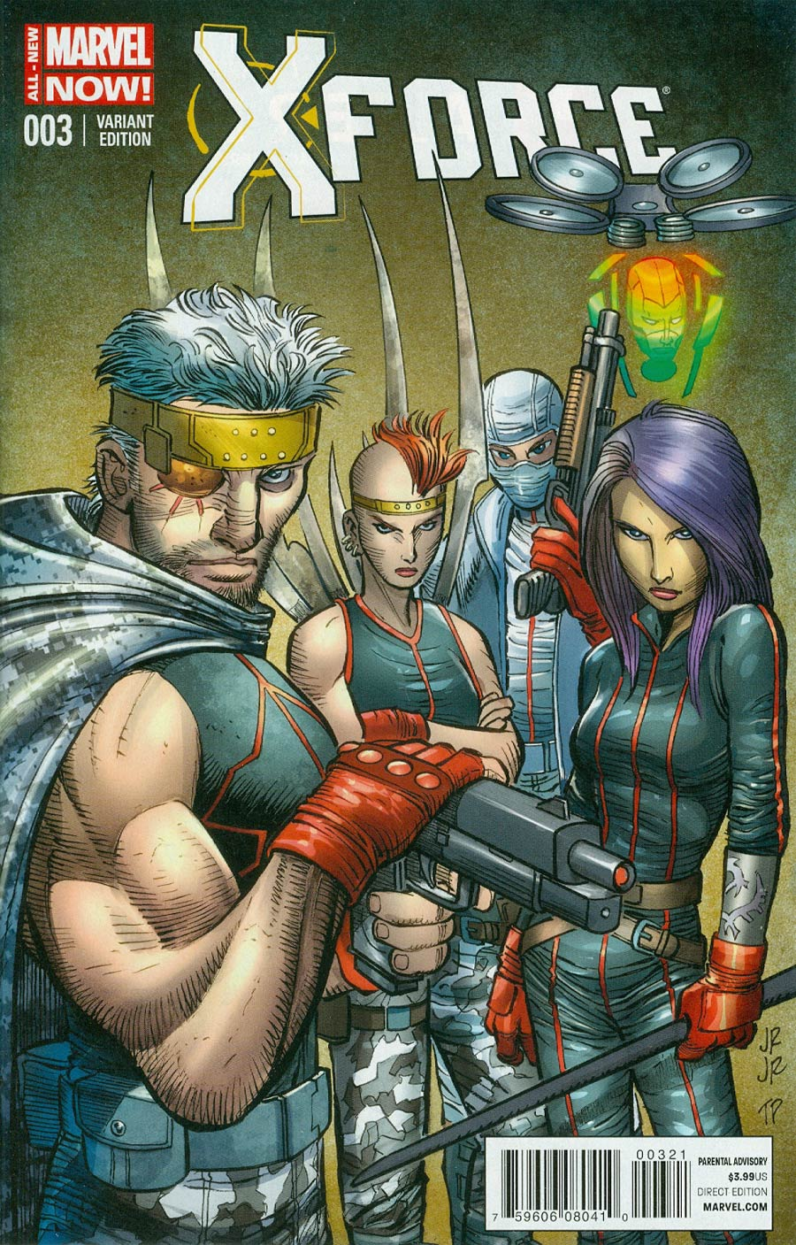 X-Force Vol 4 #3 Cover B Incentive John Romita Jr Variant Cover