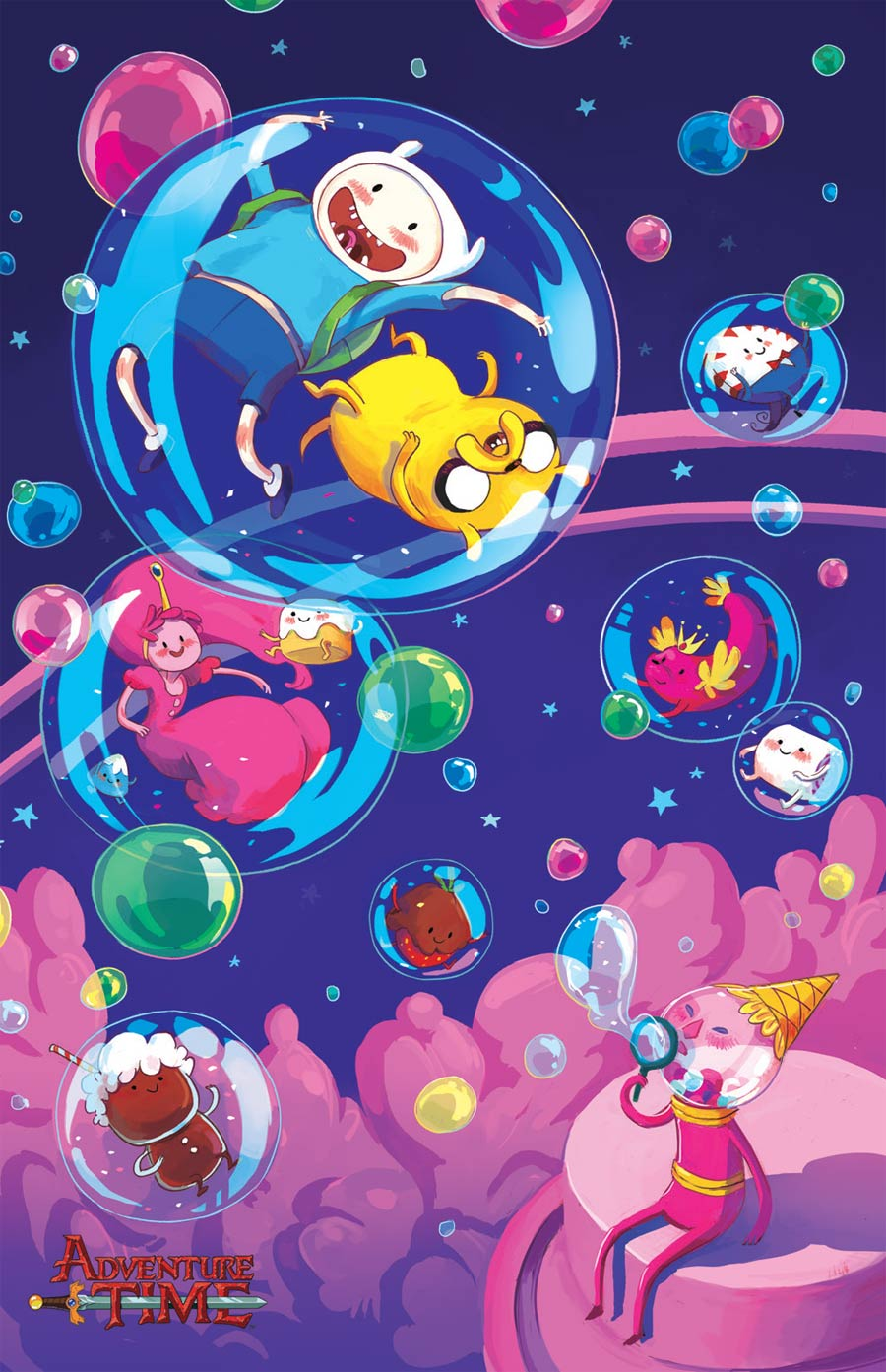 Adventure Time #27 Cover D Incentive Chrystin Garland Virgin Variant Cover