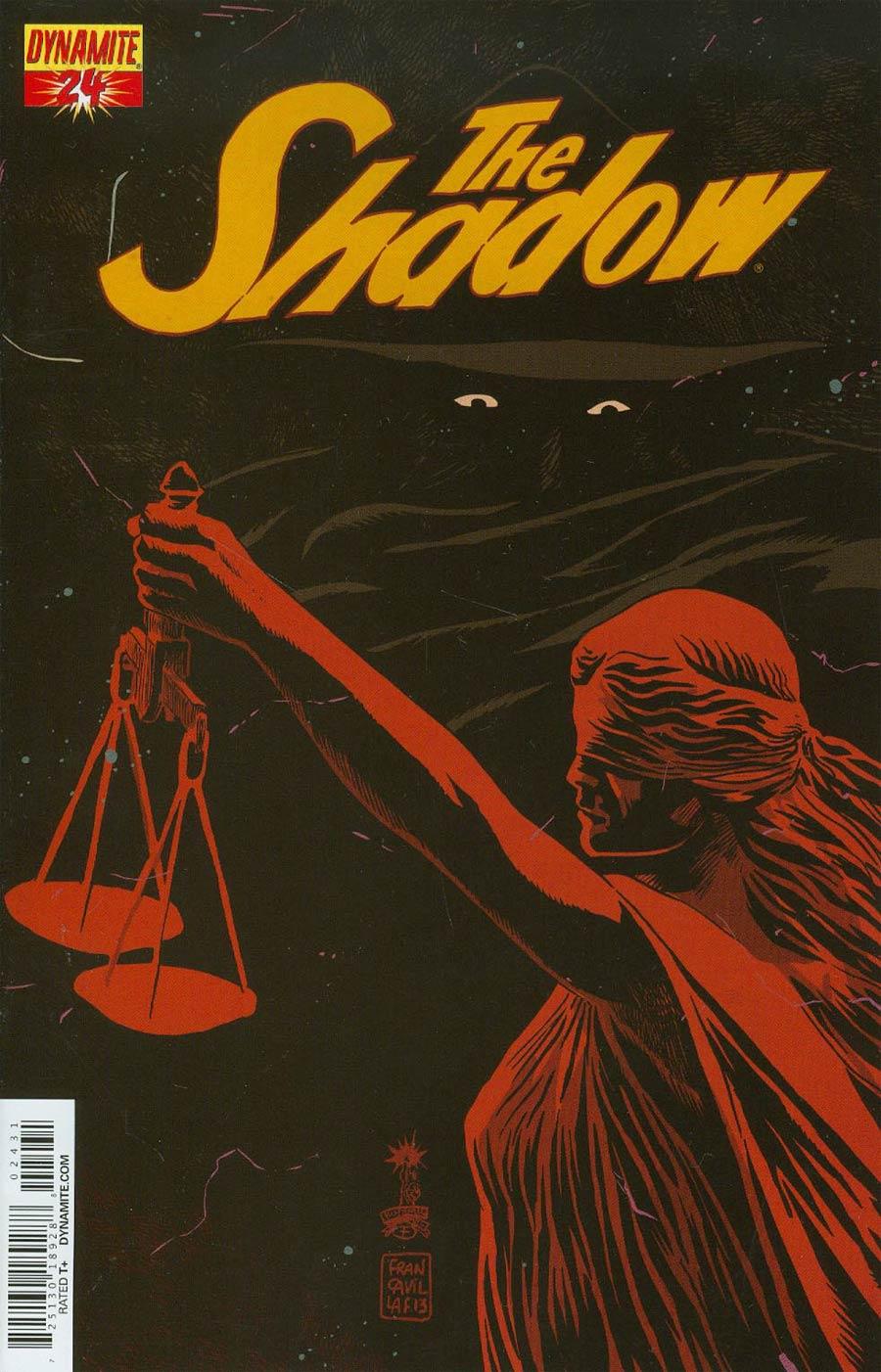 Shadow Vol 5 #24 Cover D Variant Francesco Francavilla Cover