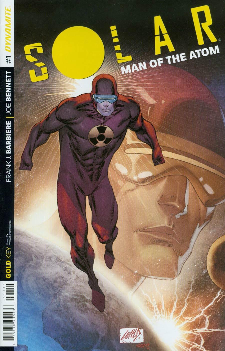 Solar Man Of The Atom Vol 2 #1 Cover E Variant Rob Liefeld Color Rare Variant Cover