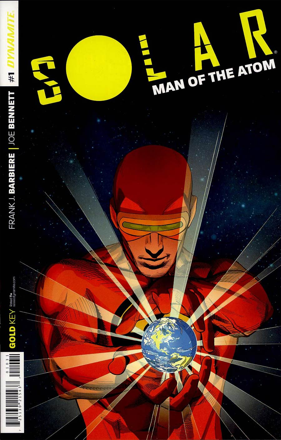 Solar Man Of The Atom Vol 2 #1 Cover H Incentive Stephen Mooney Variant Cover