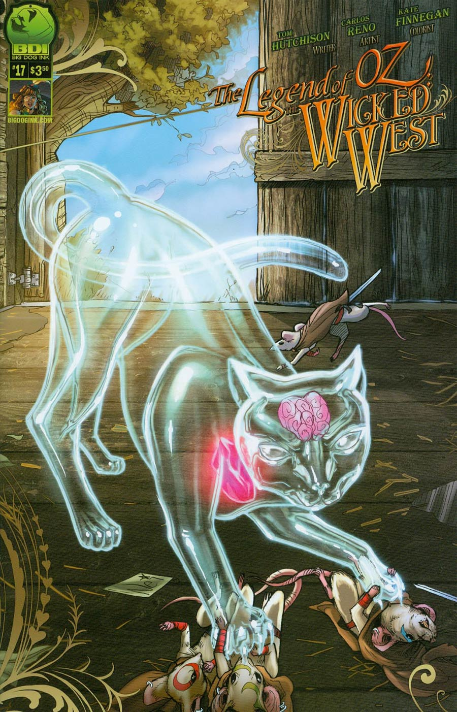 Legend Of Oz The Wicked West Vol 2 #17 Cover B Nei Ruffino