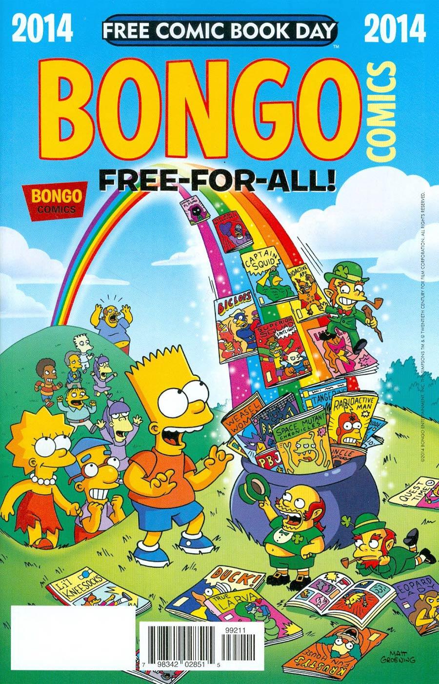 FCBD 2014 Bongo Comics Free-For-All