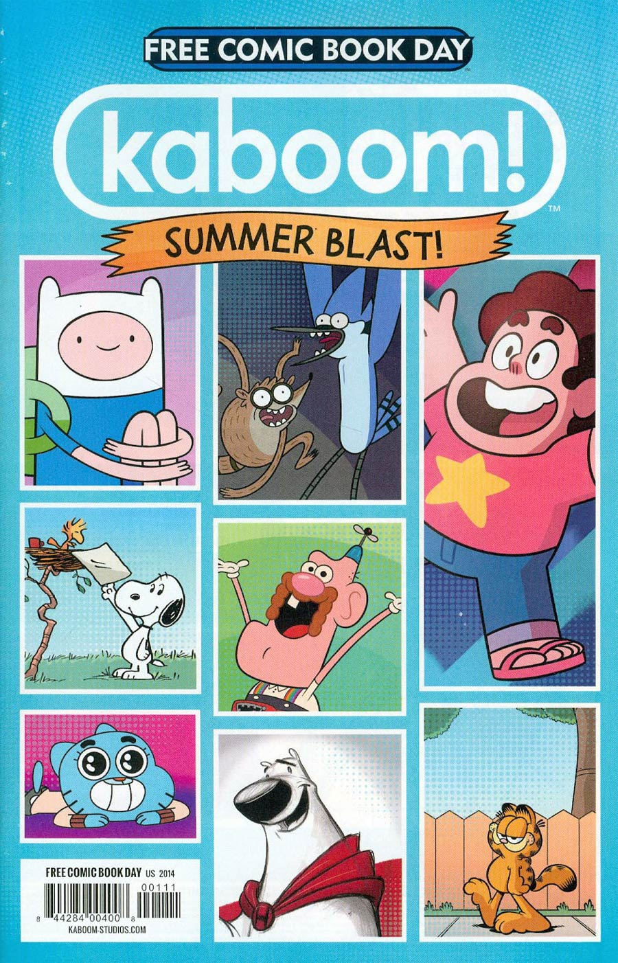 FCBD 2014 KaBOOM Summer Blast