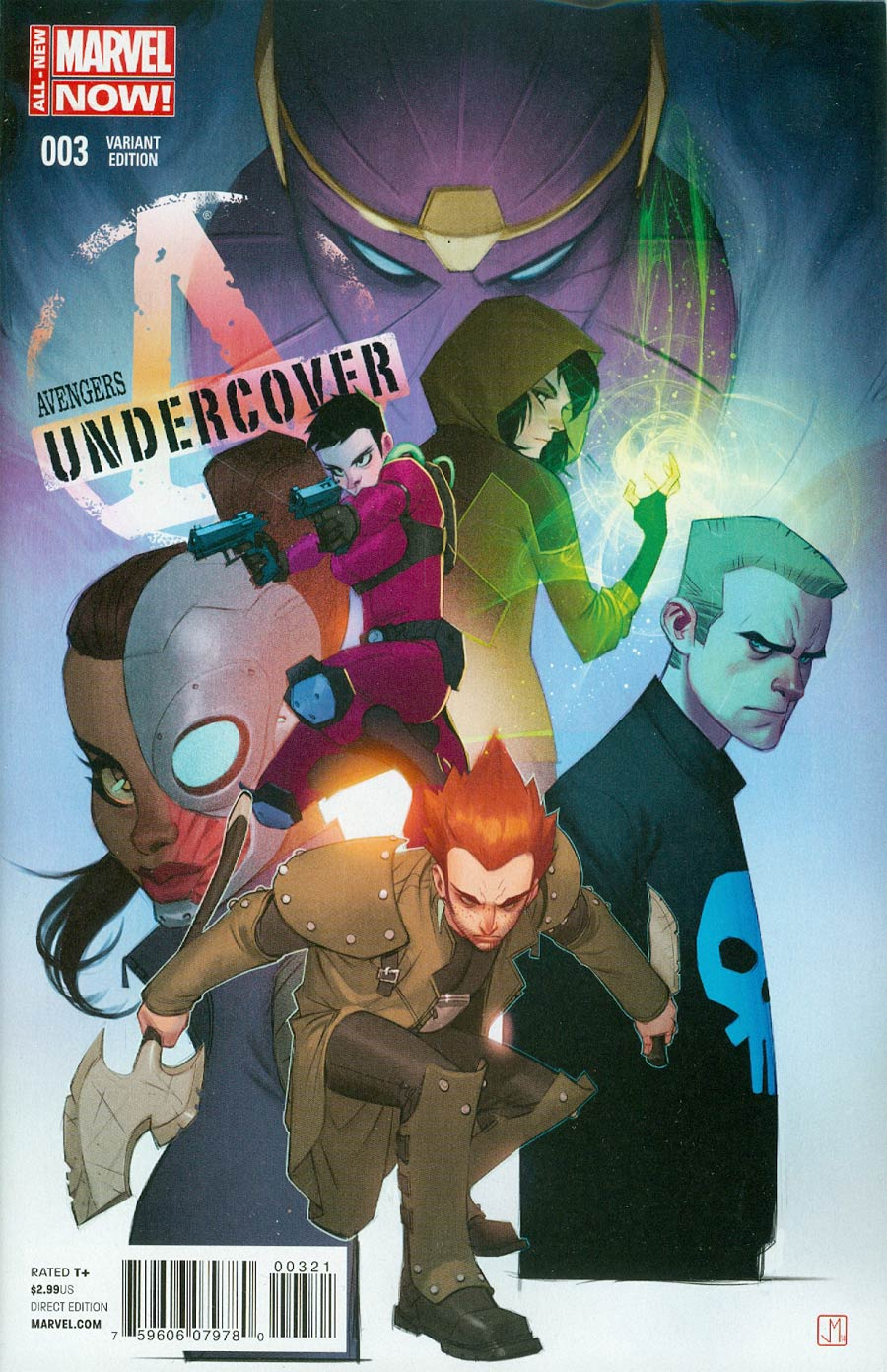 Avengers Undercover #3 Cover B Incentive Jorge Molina Variant Cover
