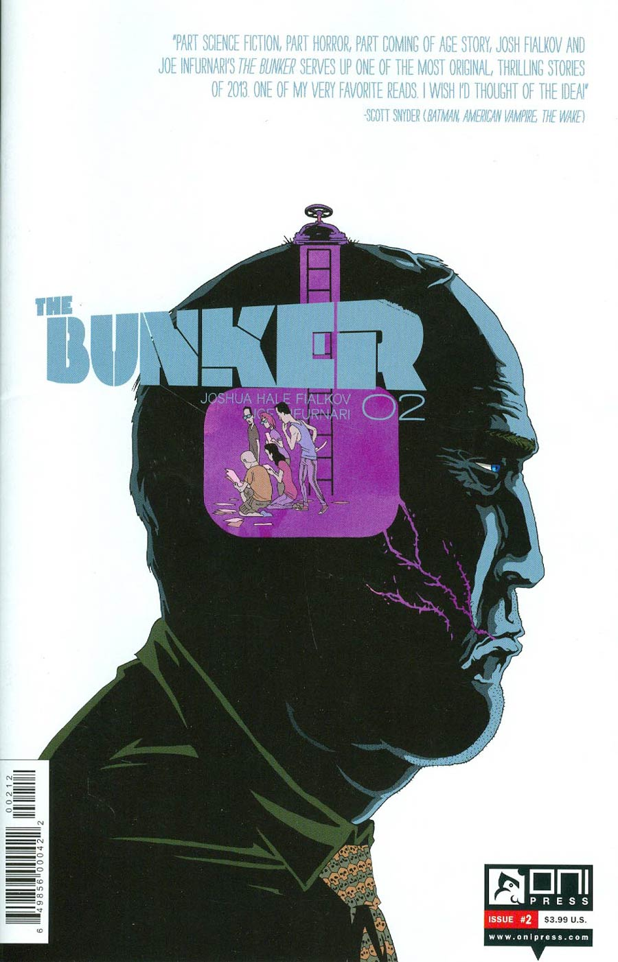Bunker #2 Cover B 2nd Ptg James Callahan Variant Cover