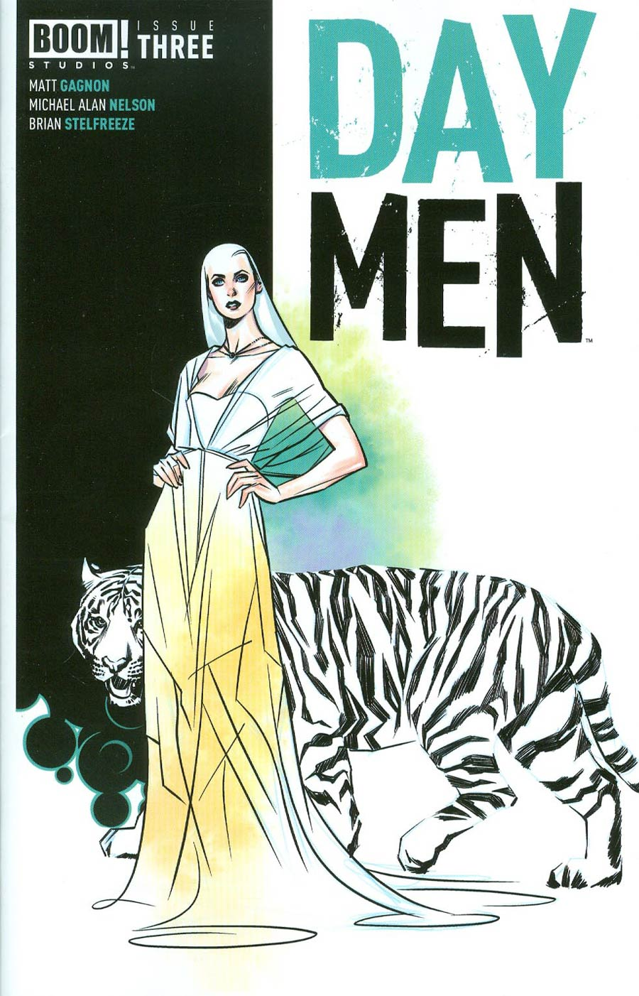 Day Men #3 Cover B 2nd Ptg