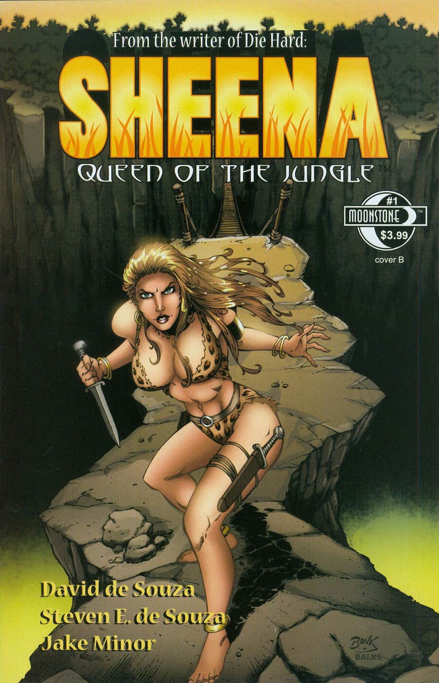 Sheena Vol 3 #1 Cover B Rich Bonk