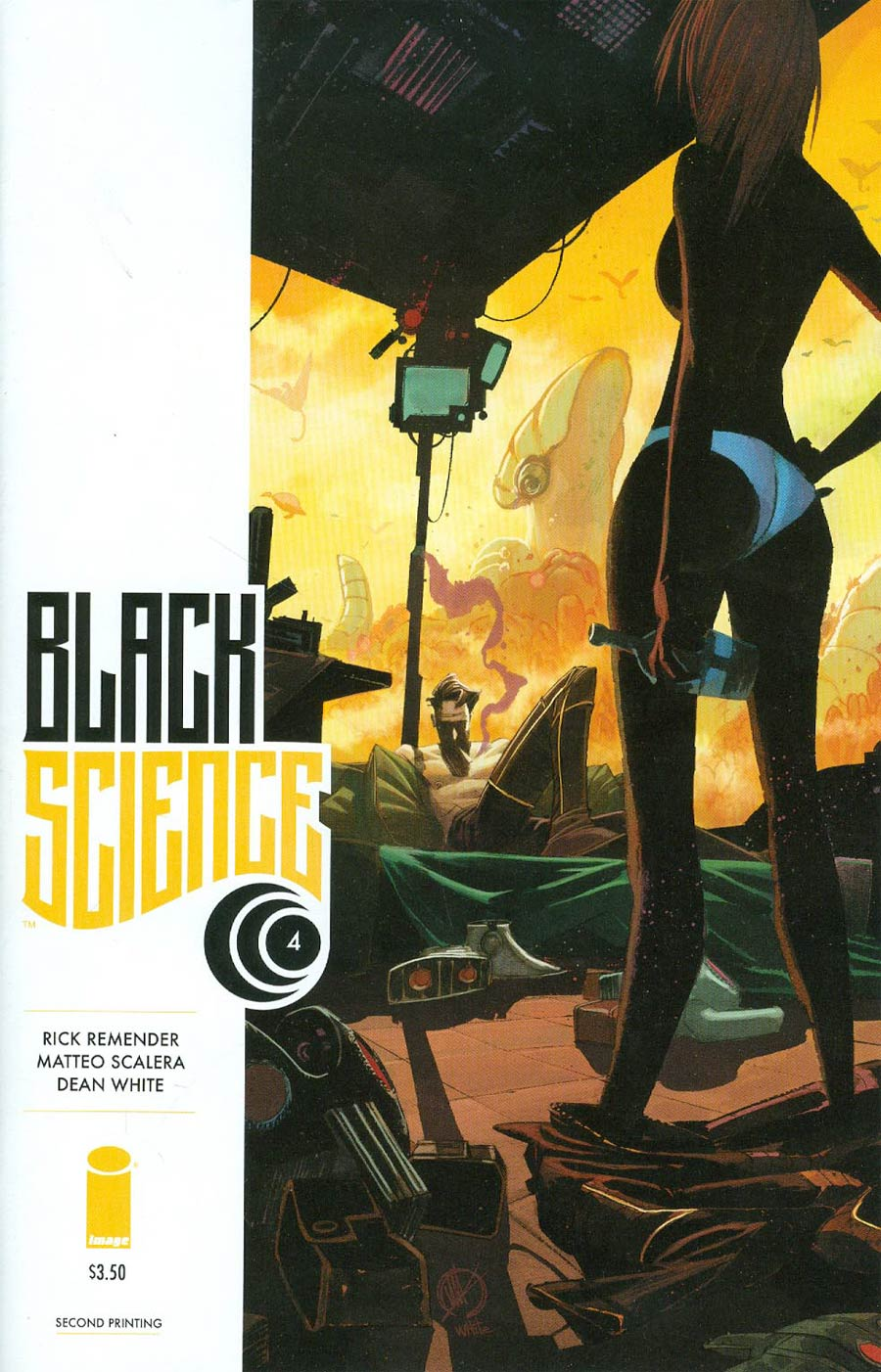 Black Science #4 Cover B 2nd Ptg Matteo Scalera Variant Cover