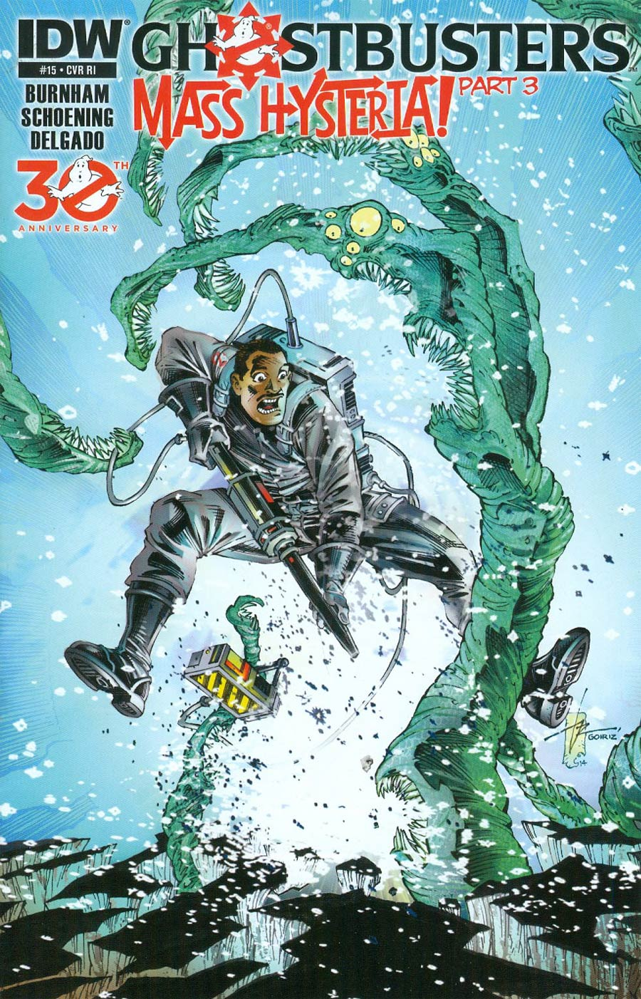 New Ghostbusters #15 Cover C Incentive Roberto Goiriz Variant Cover