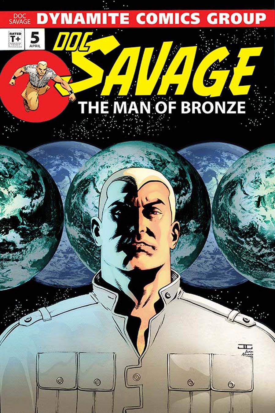 Doc Savage Vol 5 #5 Cover B Variant John Cassaday VIP Cover