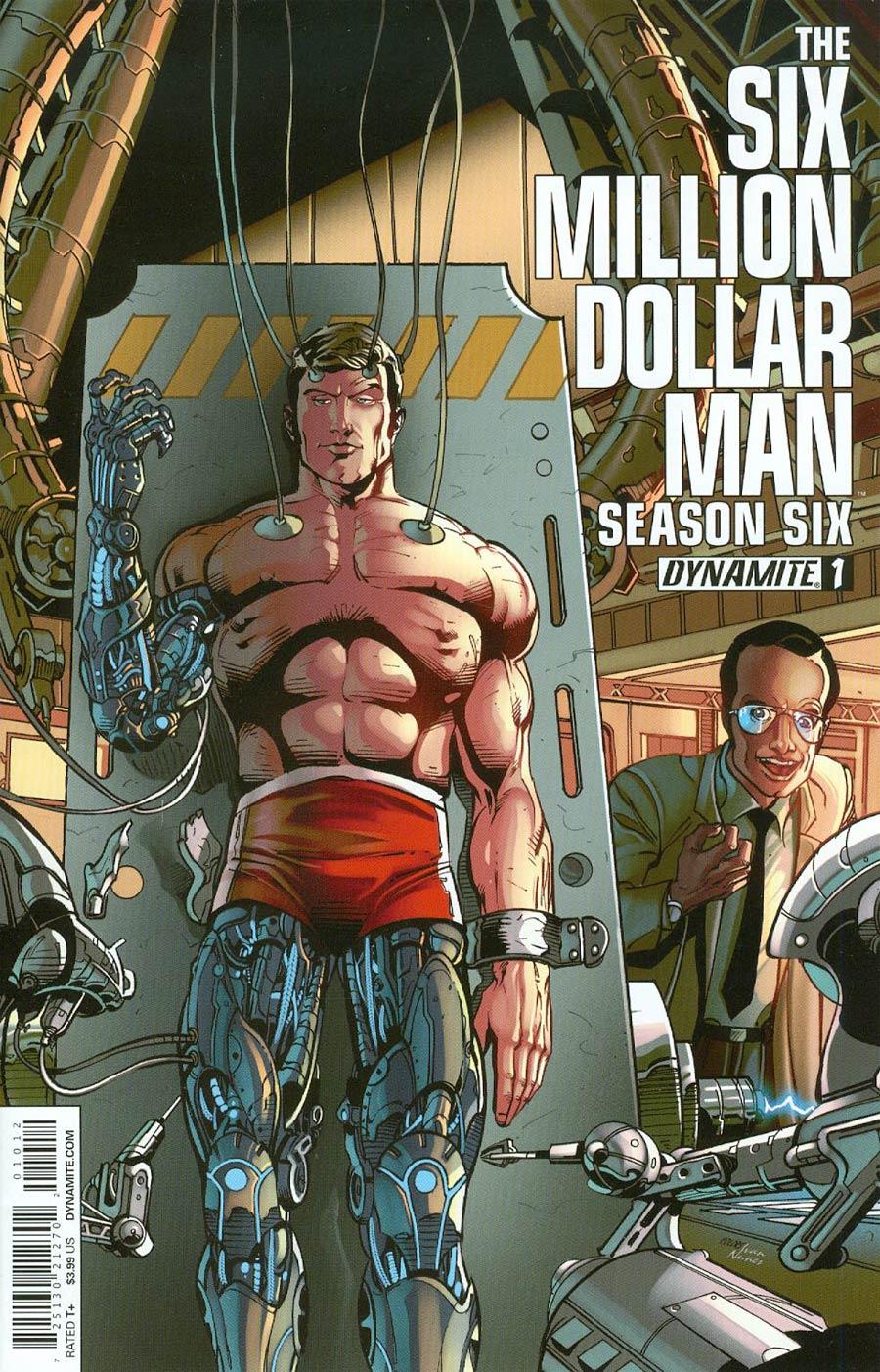 Six Million Dollar Man Season 6 #1 Cover M 2nd Ptg Variant Roberto Castro Cover