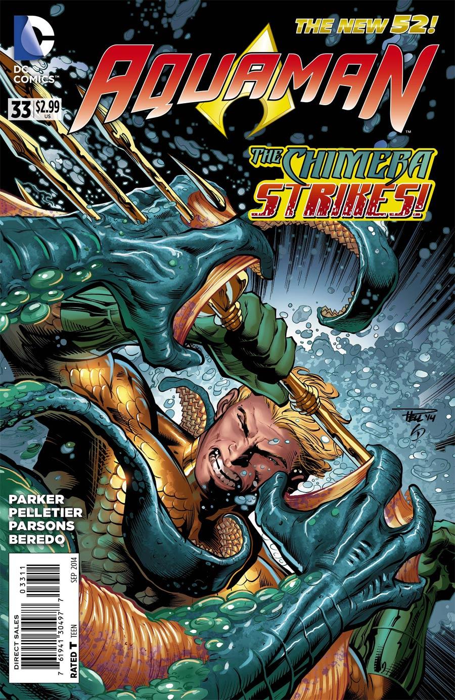 Aquaman Vol 5 #33 Cover A Regular Paul Pelletier Cover
