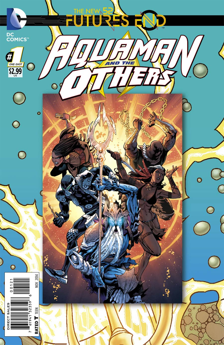 Aquaman And The Others Futures End #1 Cover B Standard Cover