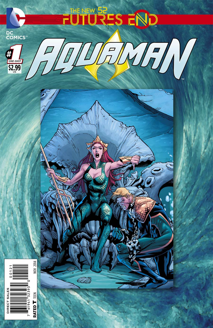 Aquaman Futures End #1 Cover B Standard Cover