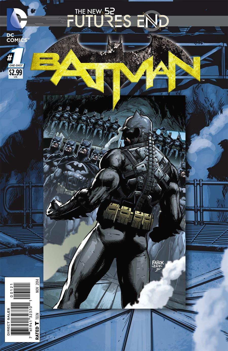 Batman Futures End #1 Cover B Standard Cover