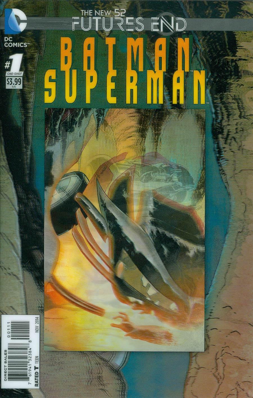 Batman Superman Futures End #1 Cover A 3D Motion Cover