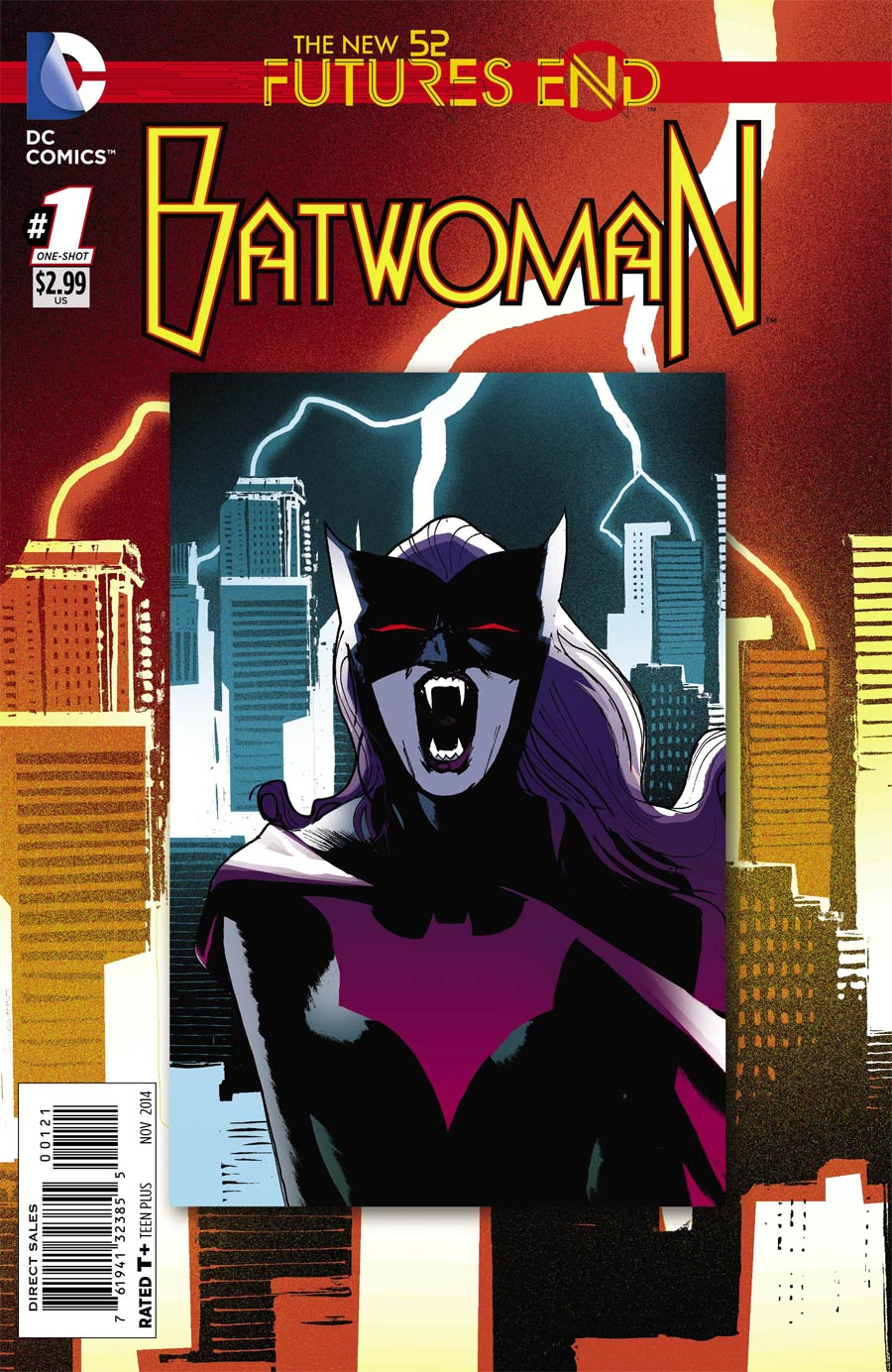 Batwoman Futures End #1 Cover B Standard Cover