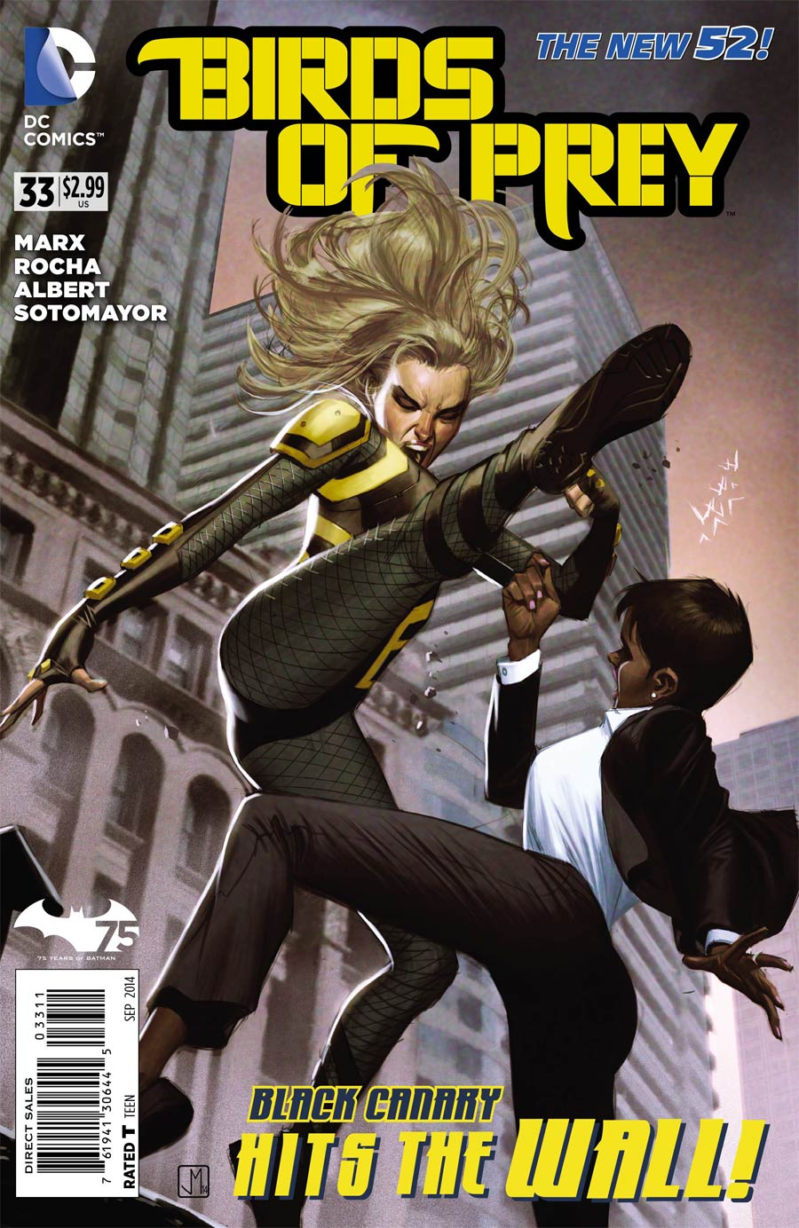 Birds Of Prey Vol 3 #33