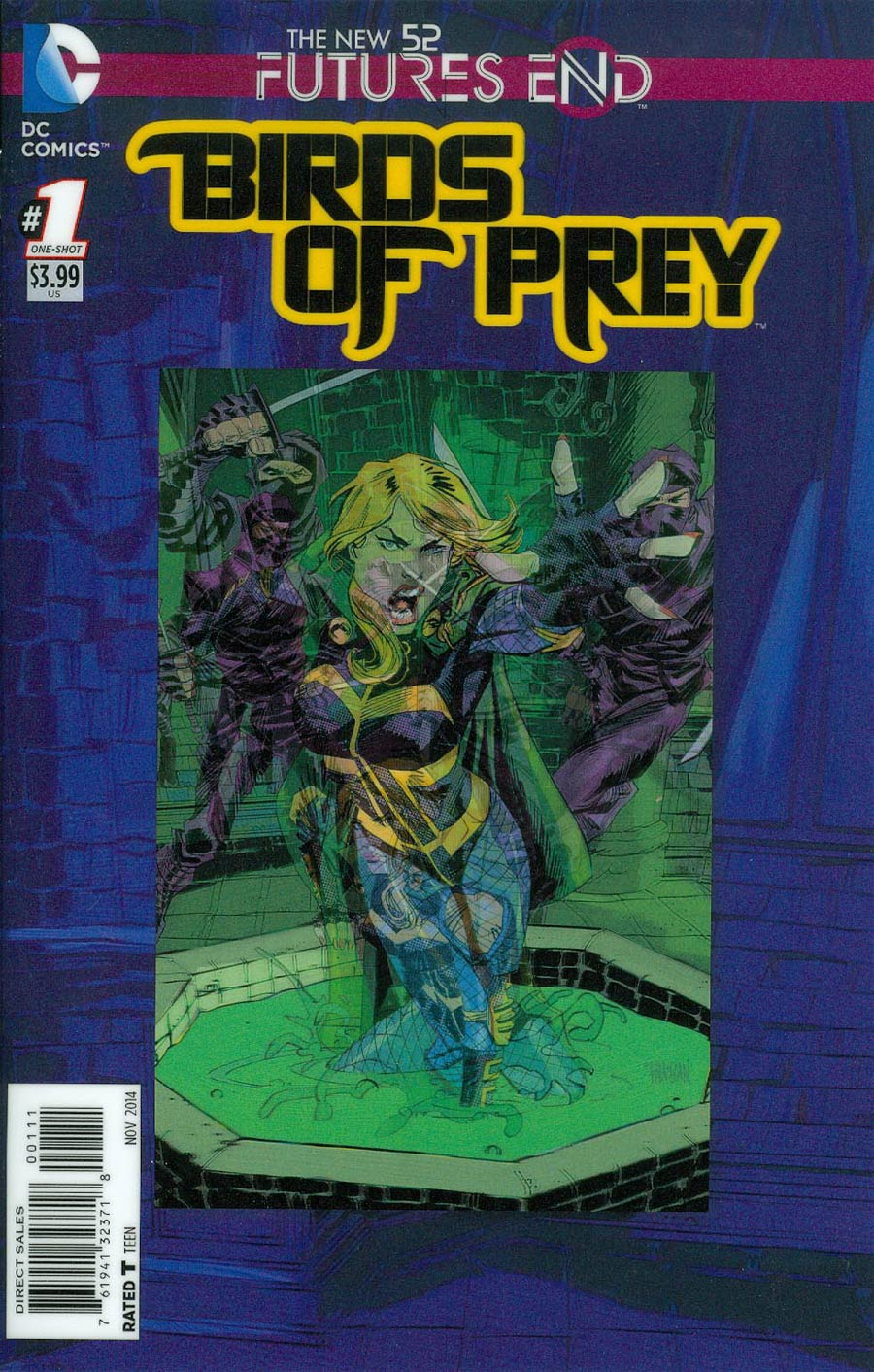 Birds Of Prey Futures End #1 Cover A 3D Motion Cover