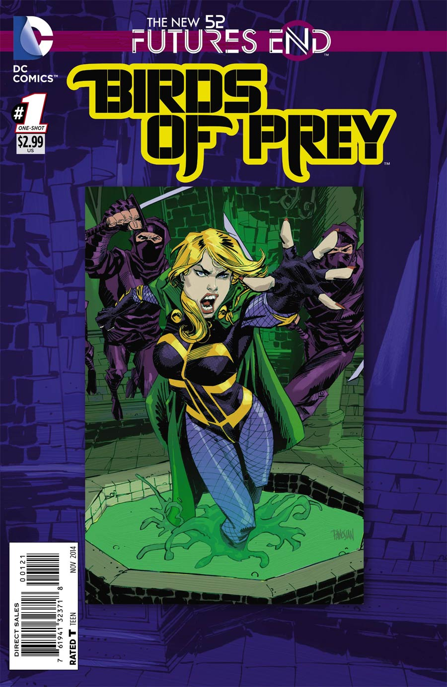 Birds Of Prey Futures End #1 Cover B Standard Cover