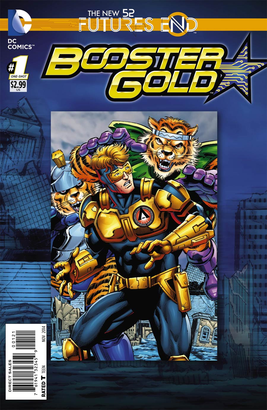 Booster Gold Futures End #1 Cover B Standard Cover