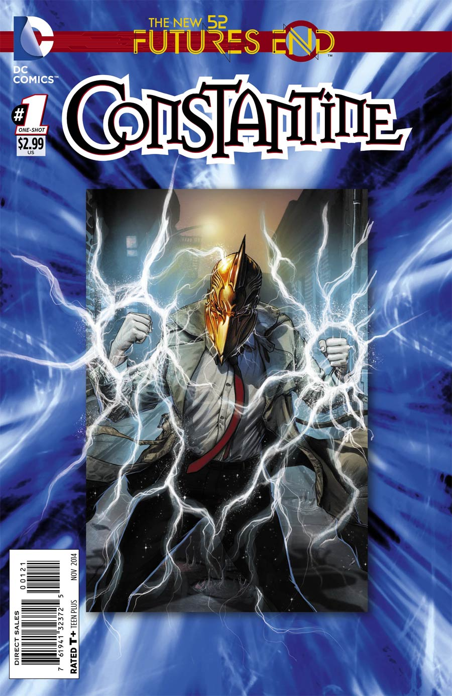 Constantine Futures End #1 Cover B Standard Cover