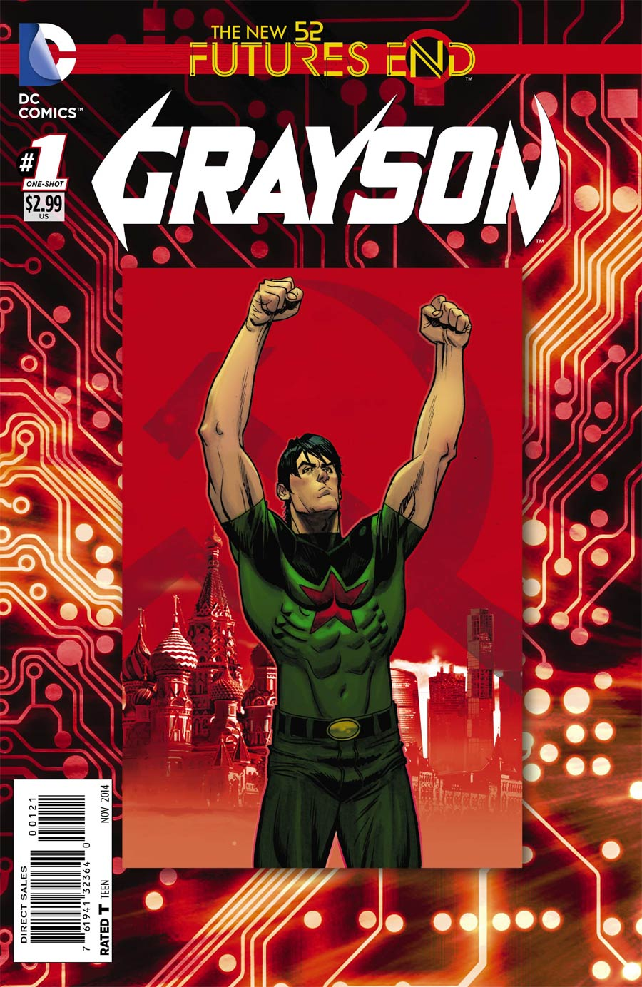 Grayson Futures End #1 Cover B Standard Cover