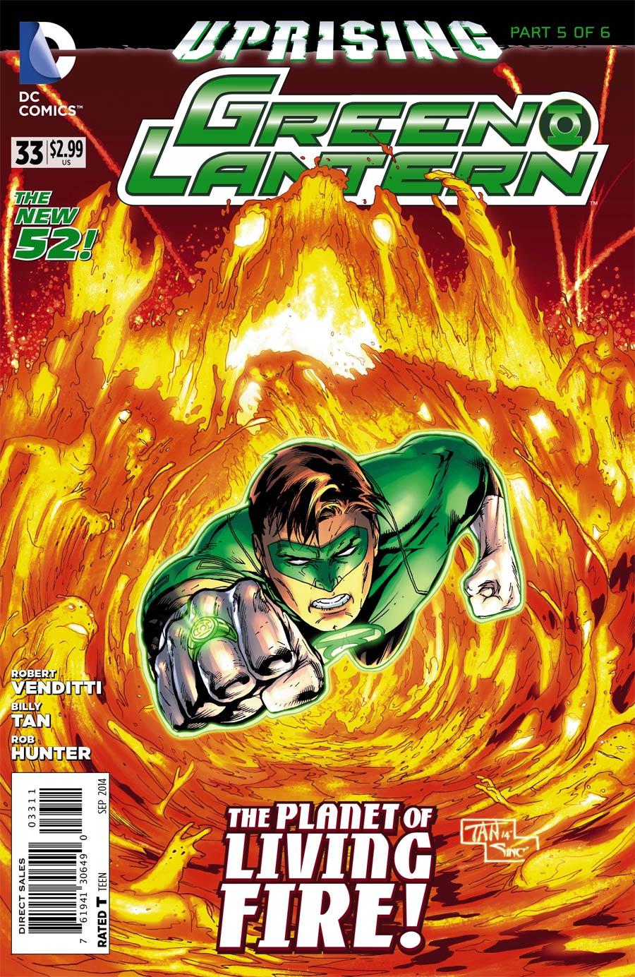 Green Lantern Vol 5 #33 Cover A Regular Billy Tan Cover (Uprising Part 5)