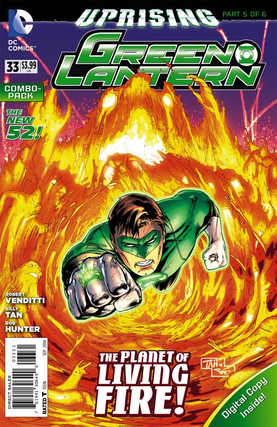 Green Lantern Vol 5 #33 Cover C Combo Pack With Polybag (Uprising Part 5)