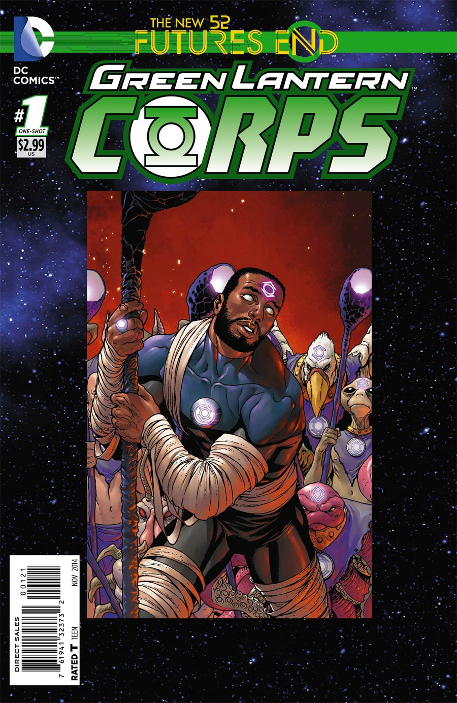 Green Lantern Corps Futures End #1 Cover B Standard Cover