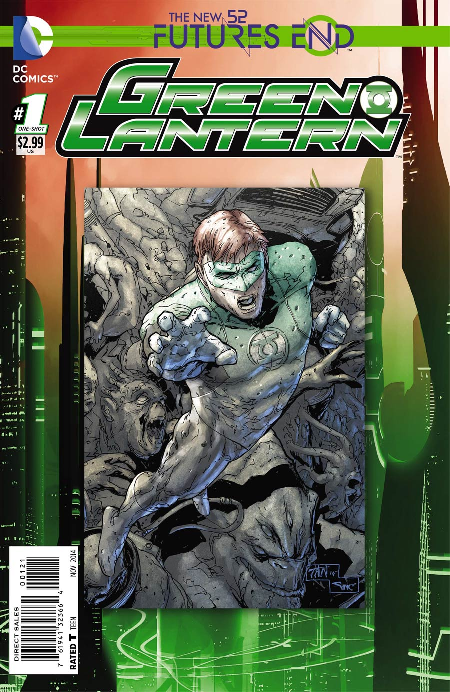 Green Lantern Futures End #1 Cover B Standard Cover