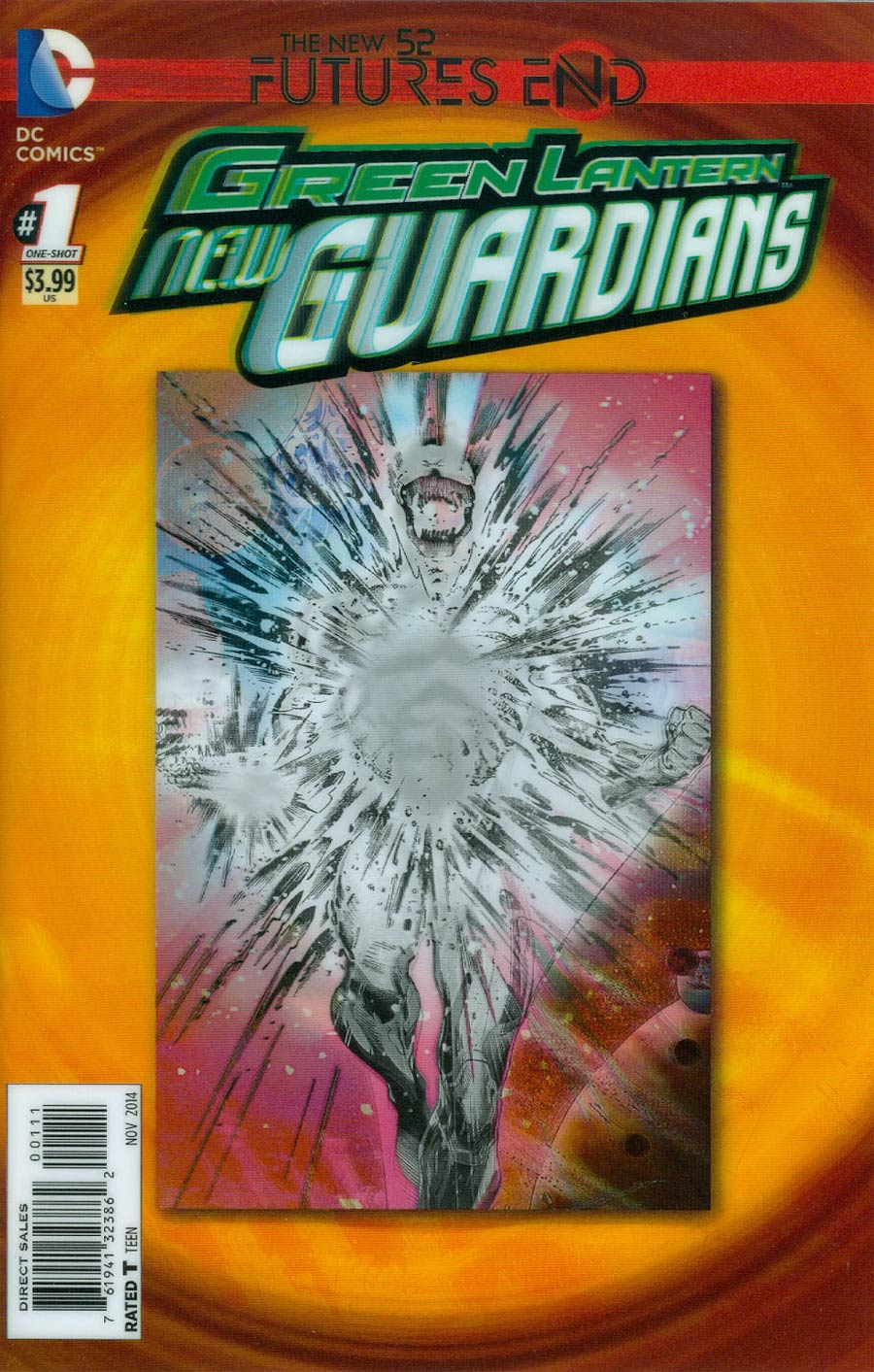 Green Lantern New Guardians Futures End #1 Cover A 3D Motion Cover