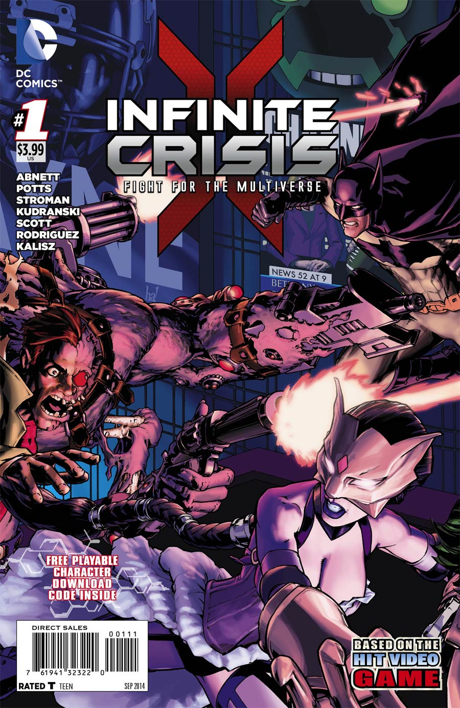 Infinite Crisis Fight For The Multiverse #1 Cover A Regular Gene Ha Cover
